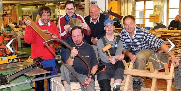 Das Gemeinwohl mehren: Das ist das Ziel, zum Beispiel bei der Arbeit in der Schreinerei der Diakonie-Einrichtung Herzogsägmühle in Oberbayern. (Foto: Herzogsägmühle/Jilka)