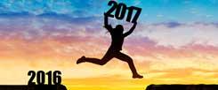 Ein großer Schritt, schon ist die andere Seite erreicht: Zum Jahreswechsel fragt Publik-Forum-Chefredakteur Wolfgang Kessler nach den Hoffnungszeichen für 2017. (Foto: istockphoto/vencavolrab)