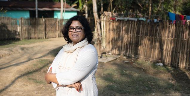 Selbstbewusst: Die Inderin Bondita Acharya lässt sich nicht einschüchtern (Foto: Saumya Khandelwal/malala.org)