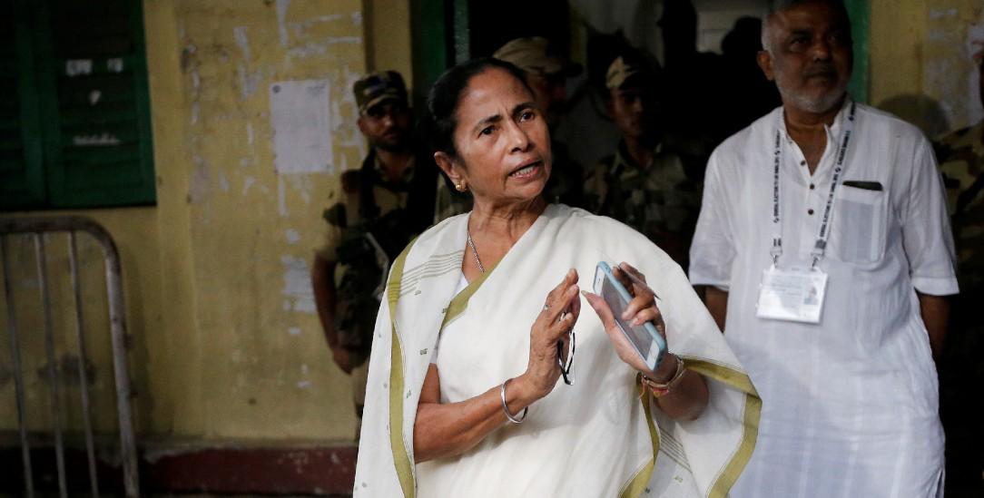 Sie trägt fast immer einen schlichten Sari, verzichtet auf Schminke und Juwelen: Mamata Banerjee, die Premierministerin des indischen Bundesstaates Bengalen (Foto: pa/REUTERS/Rupak De Chowdhuri)