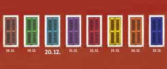"""Nur noch wenige Tage, dann ist Weihnachten: Was sich wohl hinter diesem Adventsfenster vom 20. Dezember verbirgt? Machen Sie´s doch einfach mal auf! Klicken Sie dafür auf das Wörtchen """"mehr"""". (Foto: Jonathan Stutz/Fotolia.com, mod.)"""