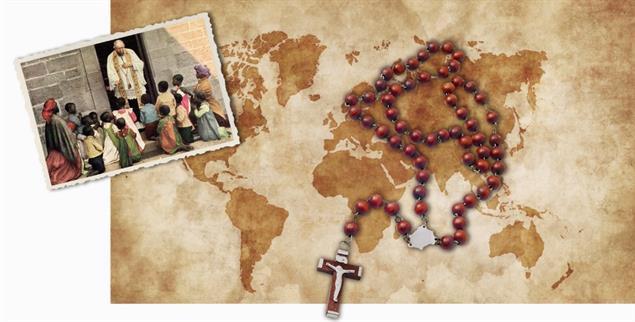 Raumgreifend: Das koloniale Denken bestimmte die christliche Mission über Jahrhunderte (Fotos: istockphoto/Evgeny Kuklev; akg-images / arkivi)