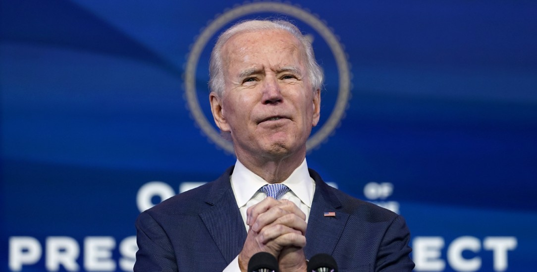 Joe Biden am 6. Januar 2021 im Queen-Theater in Wilmington, Delaware (Foto: pa/ap/Walsh)