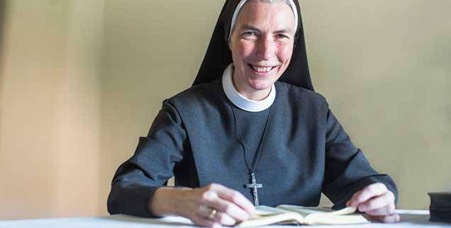 Schwester Paulis im Kloster Thuine: Den Weg in den Orden schlug sie mit 21 Jahren ein. (Foto: Heese)