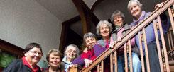 Stilvoll und gemeinsam altern: Die Mitglieder der »Alten-WG Am Goldgraben« in Göttingen residieren in einer charmanten Jugendstilvilla (Foto: Anja Lehmann)