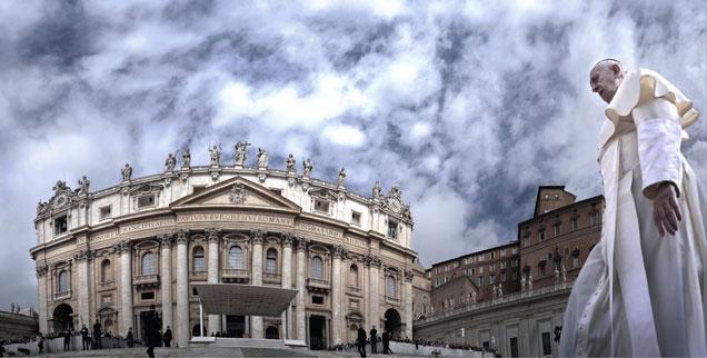 Papst Franziskus hat von Rom aus den Kommunion-Streit unter den deutschen Bischöfen befriedet: Die Ökumene hat er damit leider nicht vorangebracht. (Foto: pa/Stefano Spaziani)