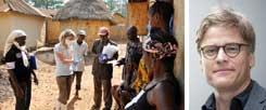 »Ärzte ohne Grenzen« hilft in Westafrika: In Guinea, Liberia und Sierra Leone ist das Gesundheitssystem praktisch zusammengebrochen, es gibt nicht genügend Behandlungsbetten für Ebola-Patienten, sagt Tankred Stöbe von »Ärzte ohne Grenzen«  (Fotos: pa/Carstensen; Amandine Colin/Ärzte ohne Grenzen)