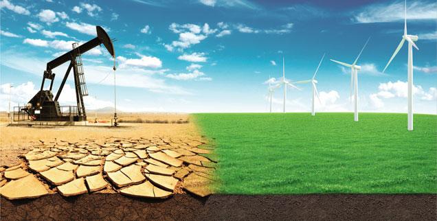 Ölförderung: Die Ressourcen sind endlich; der Abschied vom Erdöl zeichnet sich ab. (Grafik: shutterstock/Alones)