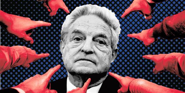 Folge einer gezielten Kampagne: George Soros wurde von einem weltweit geachteten Philanthropen zu einem der meistgehassten Menschen der Welt (Fotoillustration: Publik-Forum; Fotos: iStock by Getty/photoschmidt; iStock by Getty/DavidZydd; pa/epa/Stefan Zaklin)