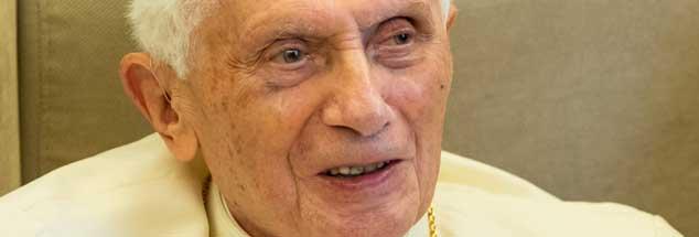 Benedikt XVI. bleibt seinem alten Feindbild treu: der 68er-Bewegung. (Foto: pa/Karmann)