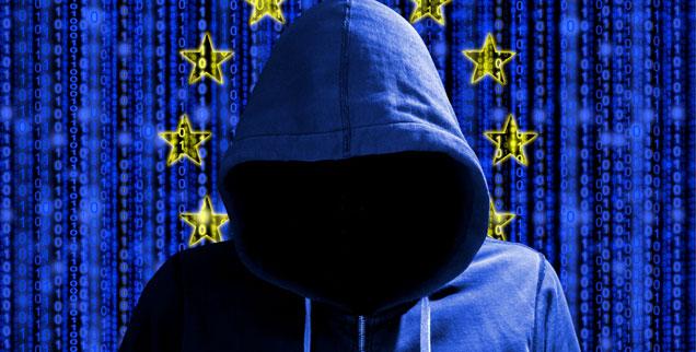 Wie werden die Europawahlen vor Online-Manipulationen geschützt? »Europa brennt, und die EU-Staaten versuchen, mit Wasserpistolen dagegen anzukämpfen« (Foto: iStock by Getty/BeeBright)