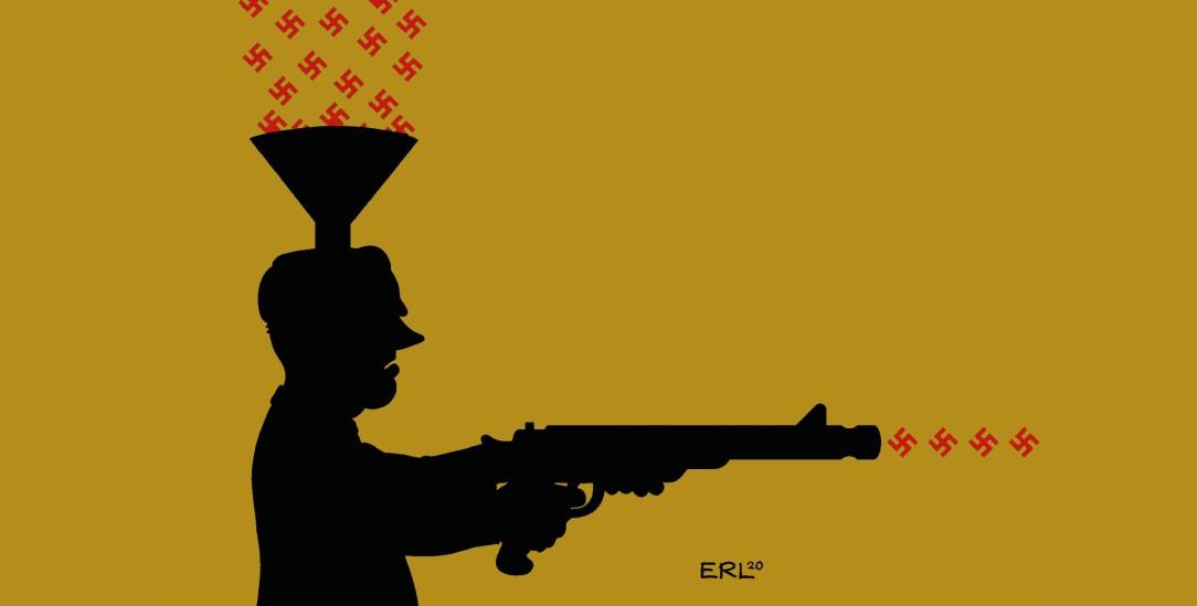Zwei Seiten einer Medaille: rechte Gesinnung und nationalistischer Terror (Foto: pa/Martin Erl)