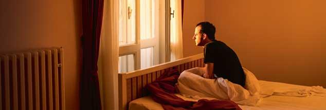 Depression: Die seelische Krankheit wird bei Männern häufig zu spät erkannt. (Foto. derprojektor/photocase.de)