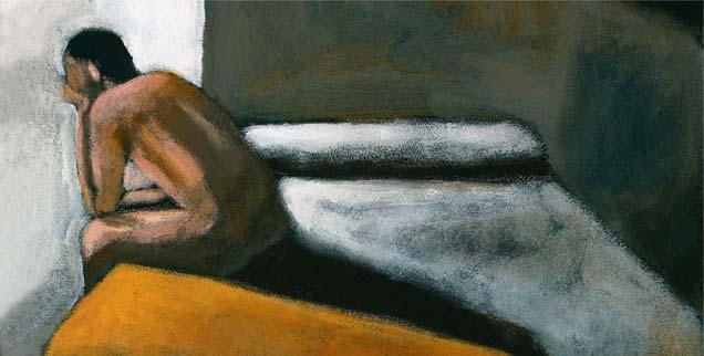 Beklemmend und lähmend können die Tode mitten im Leben sein: das Zerbrechen der eigenen Lebensperspektiven; das Schuldigwerden; die Erkenntnis, nur gebraucht und nicht geliebt zu werden; umso befreiender ist es, die Krise zu überwinden, ein Ostererlebnis  (Foto: Images.com/Corbis)
