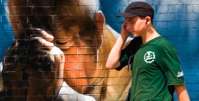 Szene in Polen: Für viele Junge wird Johannes Paul II. zur Randfigur (Foto: Pegaz/Alamy Stock Photo)