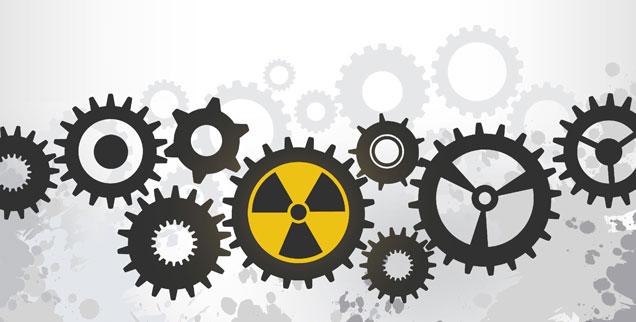 Der Atomausstieg ist in Deutschland beschlossene Sache: Aber das heißt noch lange nicht, dass in diesem Land keine Brennstäbe mehr hergestellt werden. Ganz im Gegenteil. (Illustration:istock/photocanal25)
