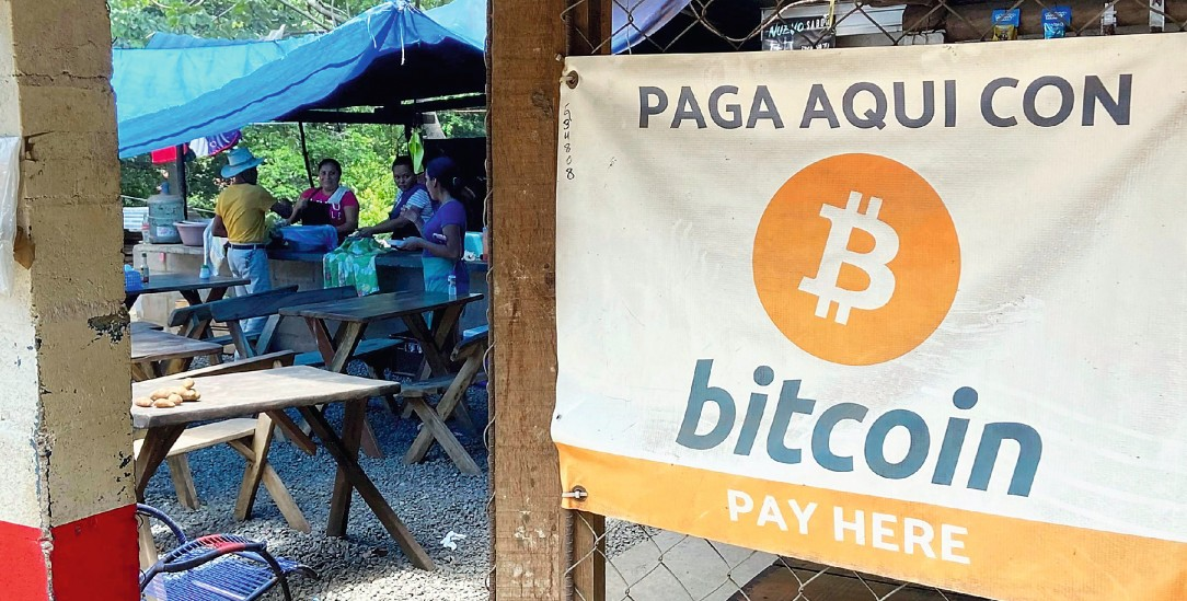 Restaurant in El Zonte: Hier kann man mit Bitcoin bezahlen (Foto: pa/Takayuki Fuchigami)
