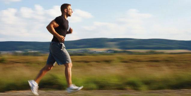 Tipp des Autors: Suchen Sie sich einen schönen Ort zum Laufen