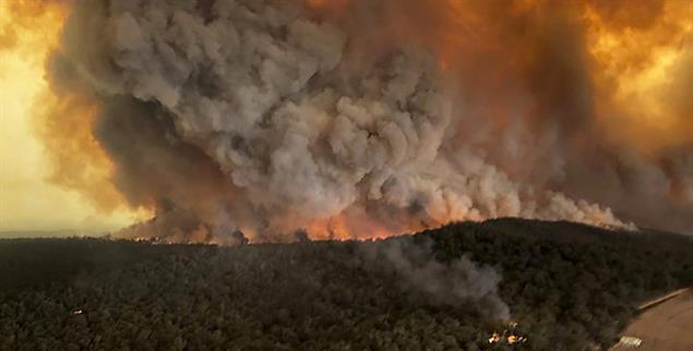 Australien: Die schlimmsten Brände seit Jahren (Foto: pa/Morey)