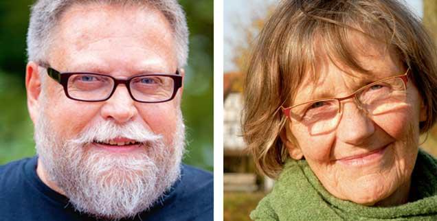 """Soll man Organspender werden? Peter Fricke (links) sagt: """"Ja !"""" Gisela Meier zu Biesen (rechts) sagt: """"Nein!"""" (Fotos: privat)"""