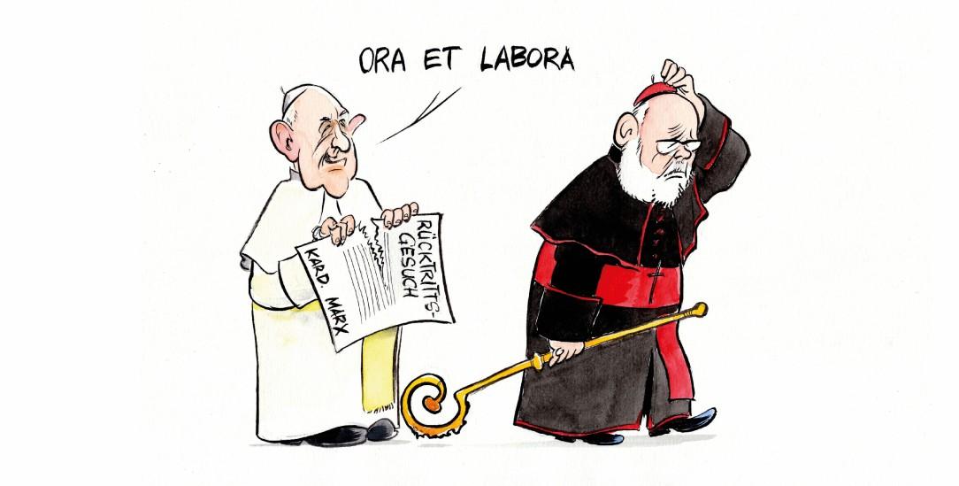 (Zeichnung: PA/Die Kleinert/Paolo Calleri)