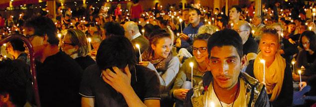 Die Kraft der Stille: Unzählige Jugendliche haben Taizé als einen Ort intensiver geistlicher Erfahrungen erlebt (Foto: pa/Pacific Press/Michael Debets)
