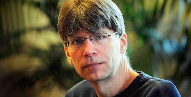 Der Schriftsteller Richard Powers ist der neunte Mensch, der sein Genom entschlüsseln ließ. Welche Erkenntnisse er daraus zog, schildert er im Interview  (Foto: pa/Moilanen)
