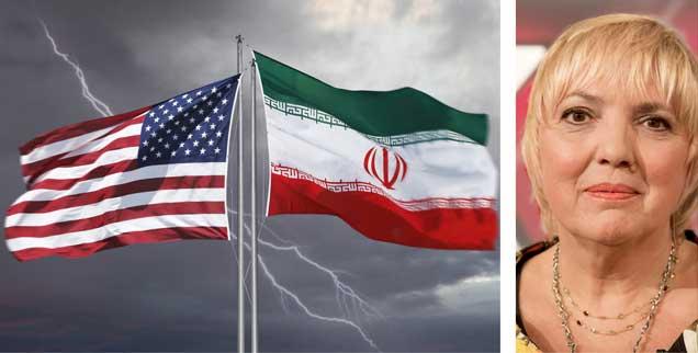 Wohin führen die Spannungen zwischen USA und Iran? »Zutiefst beunruhigend« nennt Grünen-Politikerin Claudia Roth die aggressiven Töne von US-Vizepräsident Mike Pence in Richtung Iran bei der Münchner Sicherheitskonferenz. (Fotos: istockphoto/narvikk; pa/Pagels)