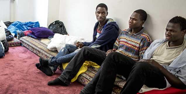 Auf engstem Raum: Genau wie die Kirchen stand auch die Moschee in Glinde vor der Frage, wo sie Flüchtlinge unterbringen konnte (Foto: Ferraz)