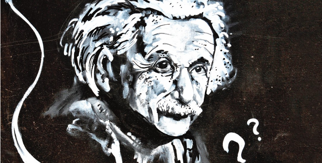 Stolz sein auf die deutsch-jüdische Vergangenheit: Albert Einstein (Illustration: Lucian Milasan / Alamy Stock Photo)
