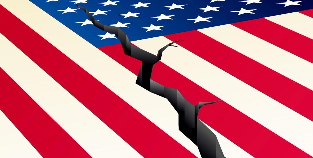USA: Ein gespaltenes Land (Foto: istockphoto/badvviser)