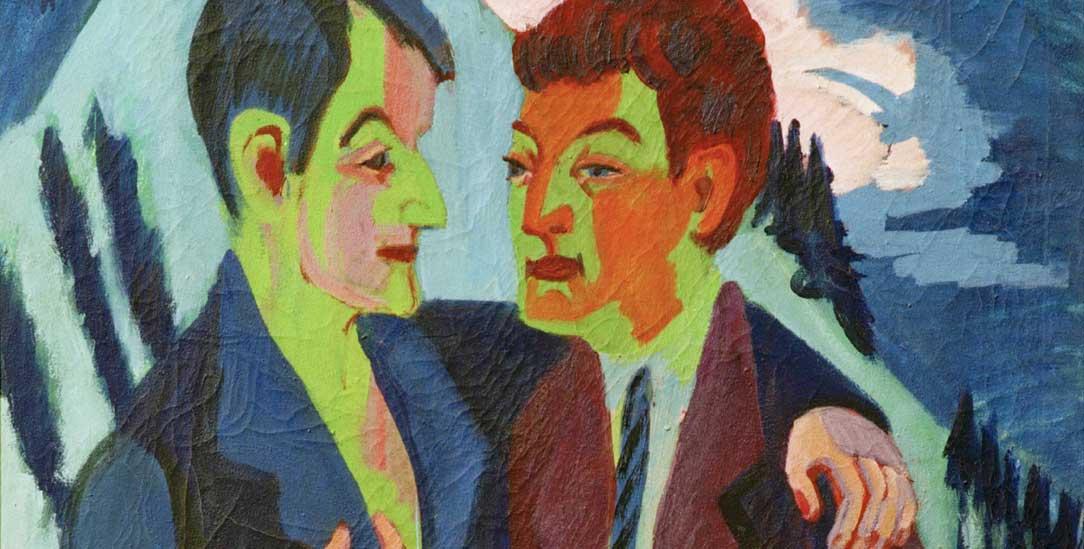 »Die Freunde«: Ein Werk von Ernst Ludwig Kirchner, 1927/29 (Foto: akg)