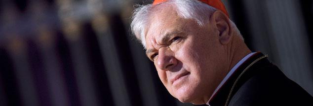 Gerhard Ludwig Müller, mächtiger Mann in Rom: Es mehren sich die Zeichen dafür, dass Papst Franziskus das Vertrauen in ihn verliert. (Foto: pa/Stefano Spaziani)