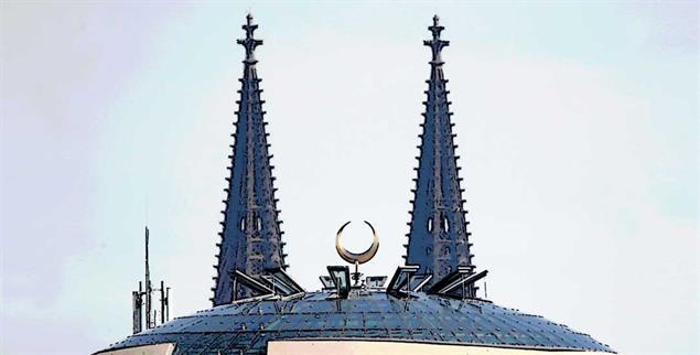 Muezzin-Rufe in Köln: schlicht ein Gebot der im Grundgesetz garantierten Religionsfreiheit. (Foto: Reuters/Wolfgang Rattay.)