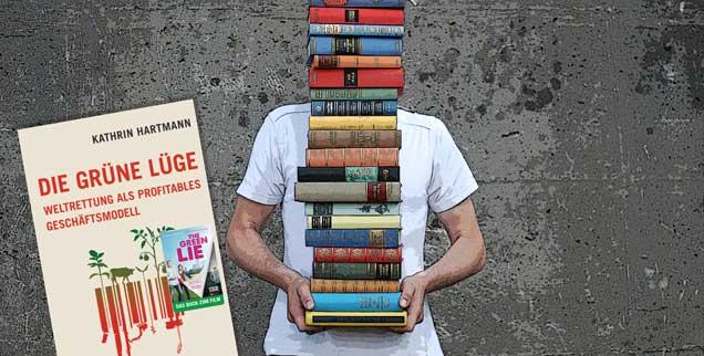 Ist kritischer Konsum zu wenig, um die Welt zu retten? »Eindeutig ja«, meint Kathrin Hartmann: »Es gibt einen Irrglauben an den ethischen Konsum.« Ihr Werk »Die grüne Lüge« ist für Norbert Copray das Buch des Monats. (Foto: luxuz:.photocase.de)