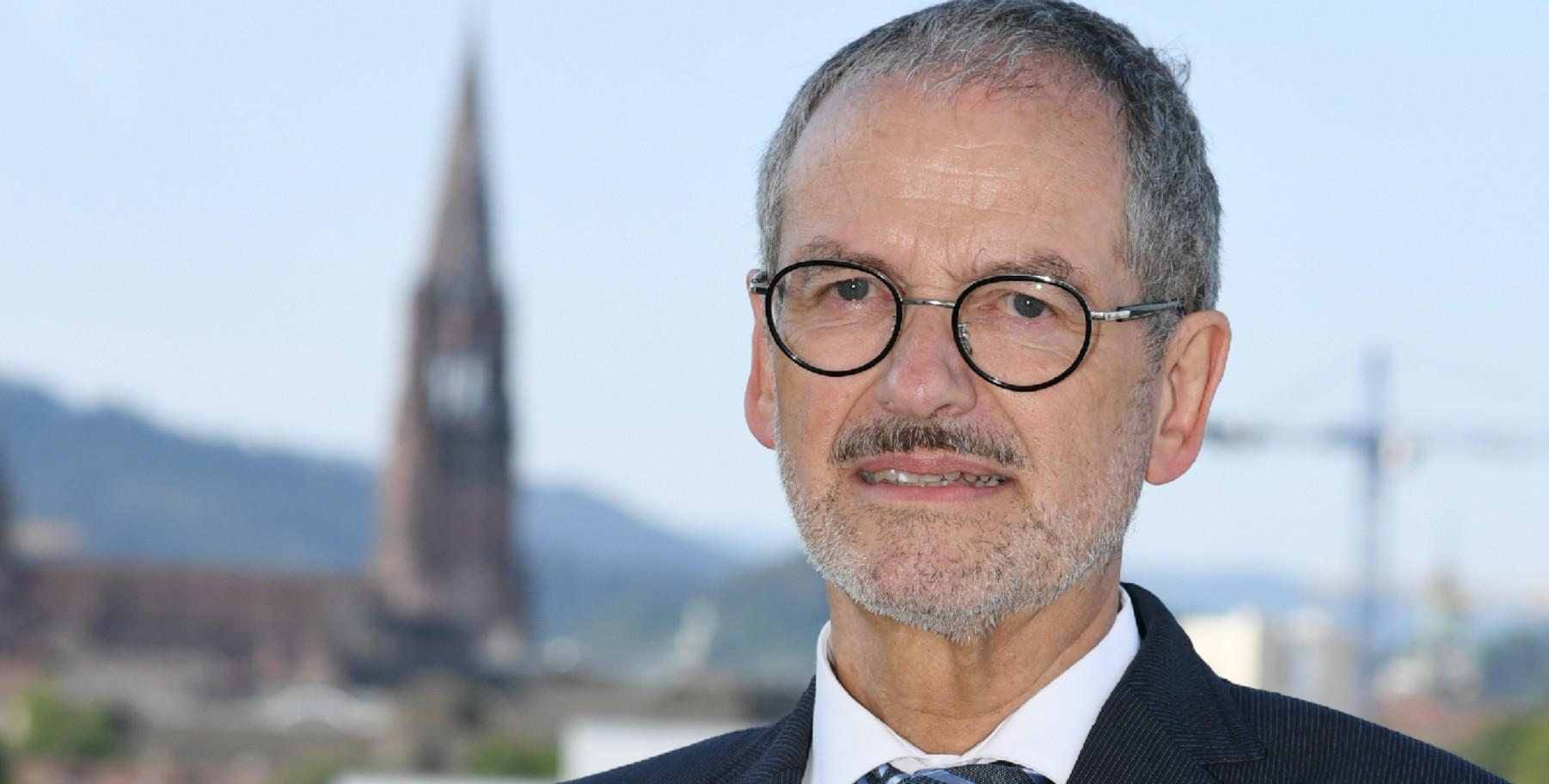 Am 13. Oktober wird über seine Nachfolge entschieden: Caritas-Präsident Peter Neher (Foto: PA/DPA/Patrick Seeger)