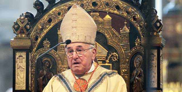 Auf die allgemeine Beliebtheit von Papst Franziskus angesprochen, meinte der in Rom lebende Kurienkardinal Walter Brandmüller im vergangenen Sommer: »Die ist nur oberflächlich. Wäre diese Bewegung eine religiöse, wären die Kirchen voll« (Foto: pa/Karmann)