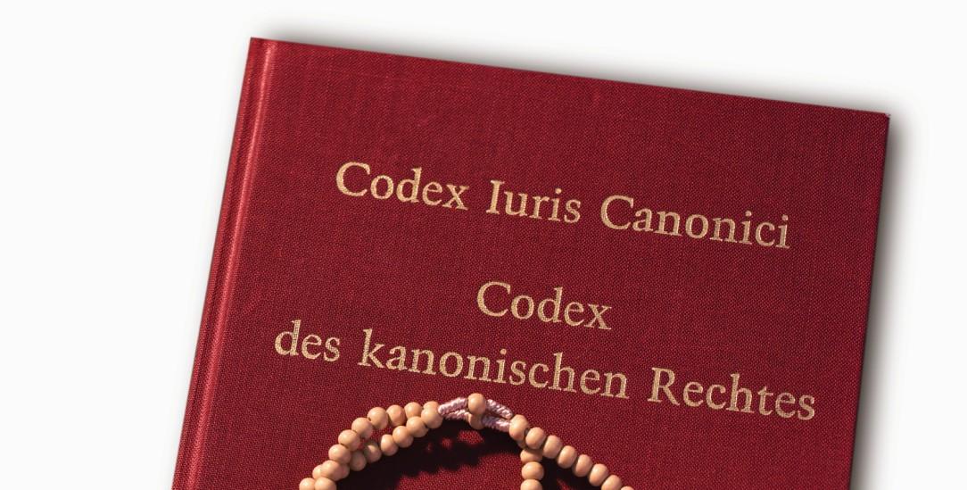Das kirchliche Gesetzbuch von 1983: Jetzt wurde ein Teil davon, das Strafrecht, erneuert (Foto: KNA)