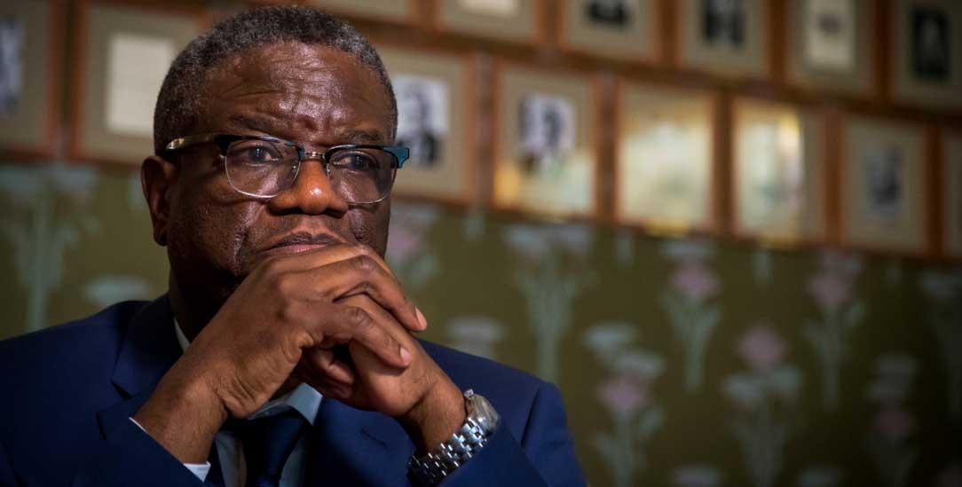 Hoffnungsträger für afrikanische Frauen: Der Arzt und Menschenrechtler Denis Mukwege (Foto: PA/NTB scanpix)