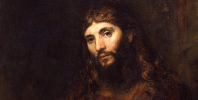 Christus mit verschränkten Armen (Rembrandt, um 1659)