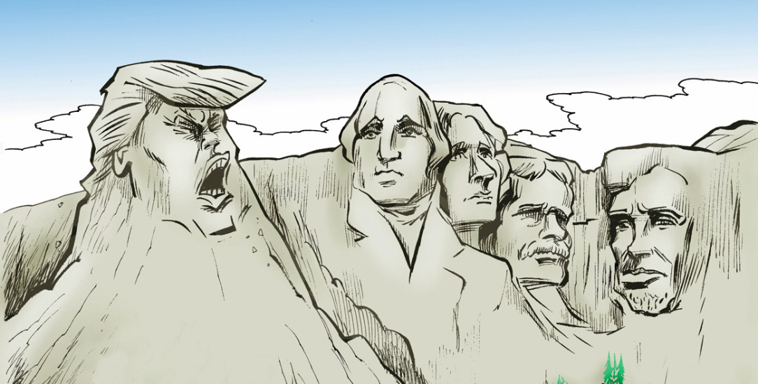 (Zeichnung: PA/Die Kleinert/Paolo Calleri) »Ich bin der Allerallergrößte!«