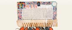 Ablass-Urkunde für Gläubige, die die St. Jacobs Kapelle der Gemeinde im niederschlesischen Klodzko, dem heutigen Polen, besuchten (Foto: Jacek Halicki/Wikipedia)
