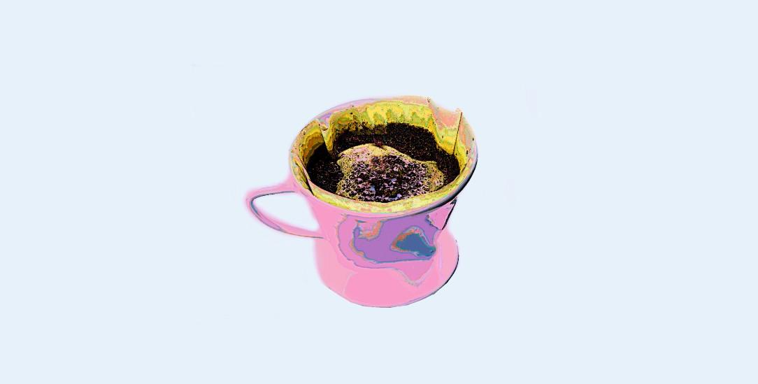 Wieder modern: Kaffeefilter aus Porzellan