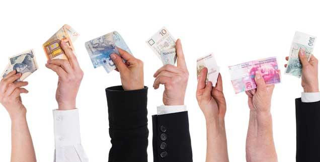 So viel Spendenwillige, so viel Geld: Aber wie sammelt man das am besten ein? Erfolgreich ist Crowdfunding im Internet. (Foto: Miriam Dörr/Fotolia)