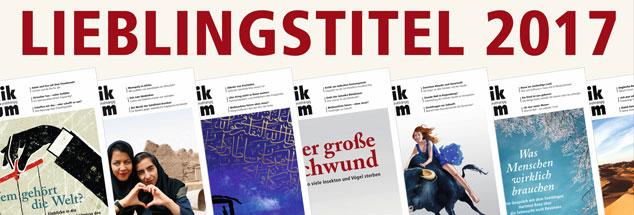 Titelbilder des Jahres 2017: Welche haben den Lesern und Nutzern von Publik-Forum.de besonders gut gefallen? Die Titel, die in unserer Umfrage auf den ersten 10 Plätzen gelandet sind, sehen Sie in der Foto-Galerie. Einfach durchklicken!