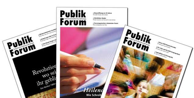 Diskussionsbasis in mittlerweile fast vierzig Leserkreisen quer durch die Republik: Artikel aus Publik-Forum