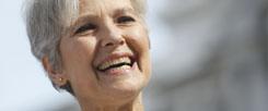 Dr. Jill Stein, Ärztin und US-Grüne: Sie könnte eine Gefahr für Hillary Clinton werden und ungewollt zum Erfolg von Donald Trump beitragen. (Foto: pa/AP Photo/Alex Brandon)