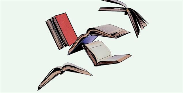 Fliegende Welten: Mit Büchern wird die begrenzte Wirklichkeit nie zu eng (Foto: Getty Images/iStockphoto/MaskaRad)