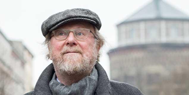 Wolfgang Thierse in Berlin, Prenzlauer Berg: »Ja-Nein-Entscheidungen reichen nicht. Schon deshalb bergen Plebiszite Gefahren.« (Foto: ullstein/thielker)