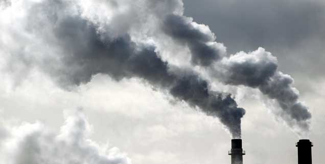 Die Industrie profitiert von billigen Emissionszertifikaten, dem Klima schaden sie, eine Reform des Systems wäre daher dringend nötig gewesen (Foto: pa/Dycj)